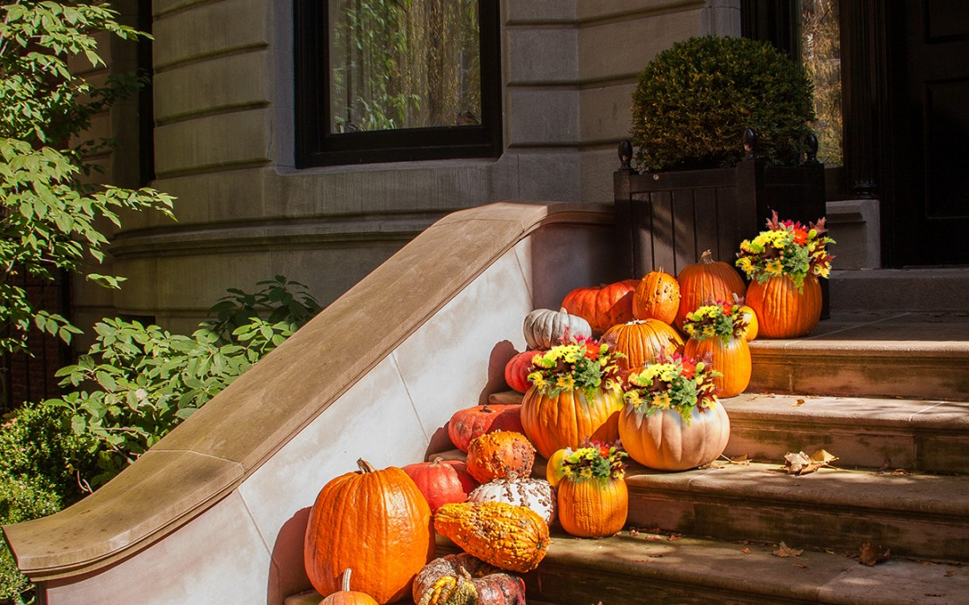 Using fresh flowers to avoid Halloween Disasters