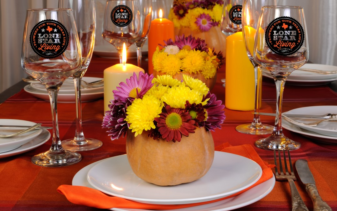 5 Reasons to add Fresh Flowers to your Thanksgiving List