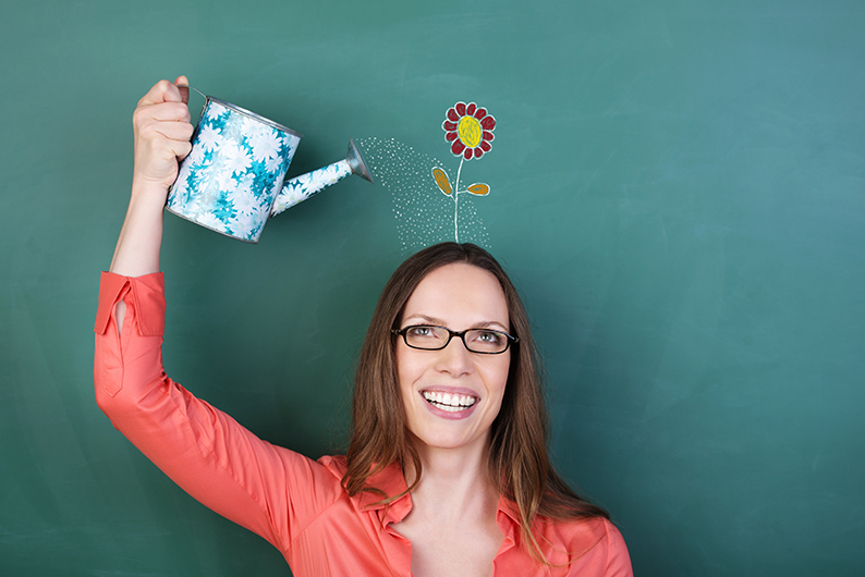 How to incorporate Fresh Flowers into your Teacher Orientation Day