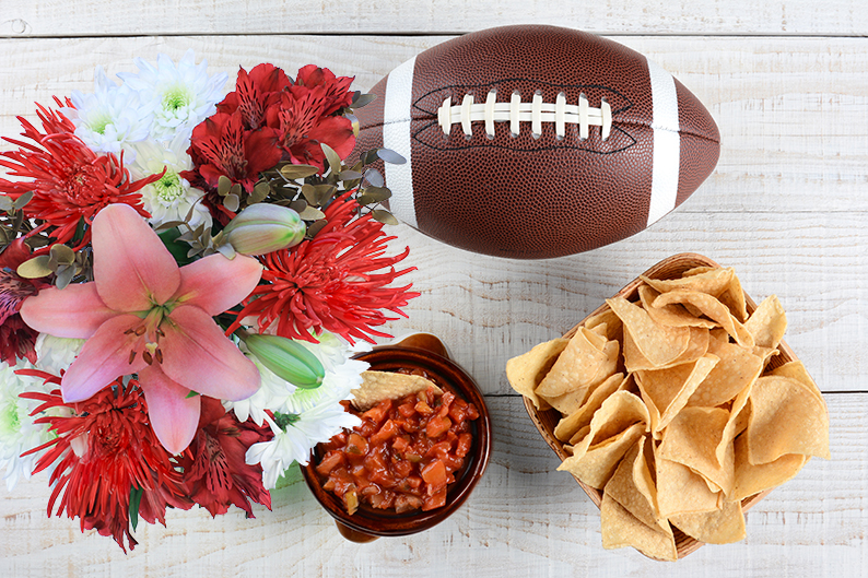 SuperBowl party ideas for your home or as a gift.