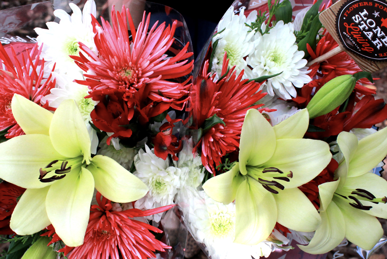 DIY Ideas using Holiday Flowers