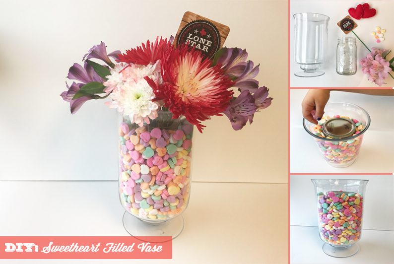 DIY: Valentine's Day Sweetheart Vase